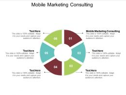 Mobile Marketing Consulting Ppt Powerpoint Presentation Professional Outline Cpb