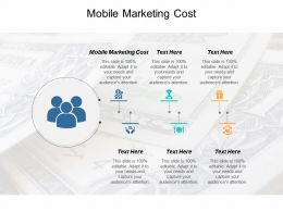 Mobile Marketing Cost Ppt Powerpoint Presentation Professional File Formats Cpb