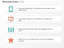 Mobile Marketing Data Presenting Inbound Adjustments Premium Services Ppt Icons Graphics