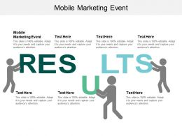 Mobile Marketing Event Ppt Powerpoint Presentation Layouts Files Cpb