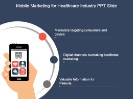 Mobile Marketing For Healthcare Industry Ppt Slide Themes