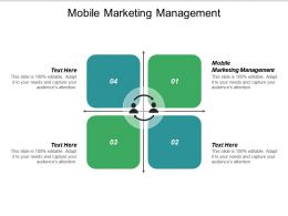 Mobile Marketing Management Ppt Powerpoint Presentation Icon Graphic Images Cpb