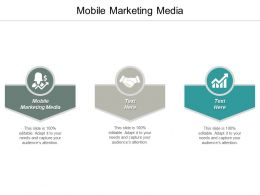 Mobile Marketing Media Ppt Powerpoint Presentation Ideas Slideshow Cpb