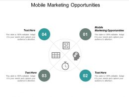 Mobile Marketing Opportunities Ppt Powerpoint Presentation Gallery Example Cpb