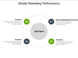 Mobile Marketing Performance Ppt Powerpoint Presentation Infographics Inspiration Cpb