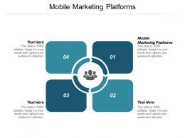 Mobile Marketing Platforms Ppt Powerpoint Presentation Pictures Outfit Cpb