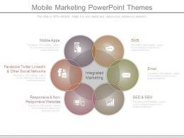 Mobile Marketing Powerpoint Themes