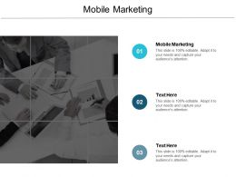 Mobile Marketing Ppt Powerpoint Presentation Infographic Template Graphics Cpb