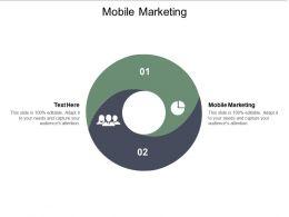 Mobile Marketing Ppt Powerpoint Presentation Portfolio Background Designs Cpb