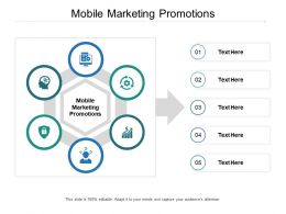 Mobile Marketing Promotions Ppt Powerpoint Presentation Professional Layout Cpb