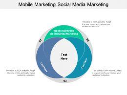 Mobile Marketing Social Media Marketing Ppt Powerpoint Presentation Styles Slides Cpb