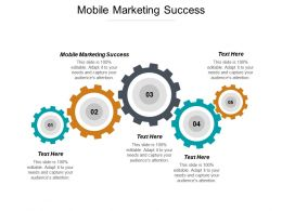 Mobile Marketing Success Ppt Powerpoint Presentation Ideas Topics Cpb