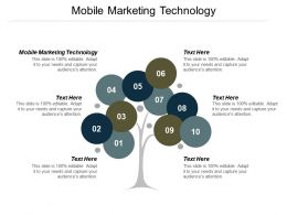 Mobile Marketing Technology Ppt Powerpoint Presentation Outline Slide Cpb