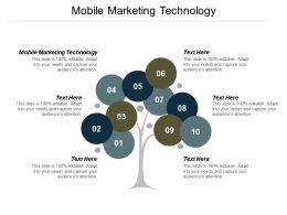 Mobile Marketing Technology Ppt Powerpoint Presentation Outline Slide Cpb