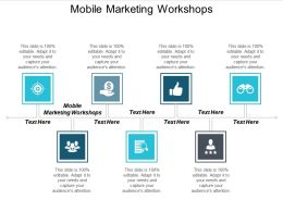 Mobile Marketing Workshops Ppt Powerpoint Presentation Outline Maker Cpb