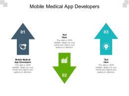Mobile Medical App Developers Ppt Powerpoint Presentation Infographics Portrait Cpb