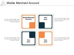 Mobile Merchant Account Ppt Powerpoint Presentation File Skills Cpb