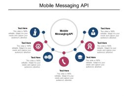 Mobile Messaging API Ppt Powerpoint Presentation Styles Visual Aids Cpb