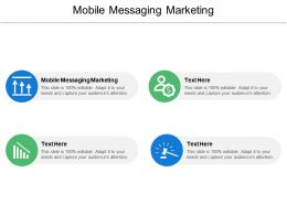 Mobile Messaging Marketing Ppt Powerpoint Presentation Ideas Background Designs Cpb