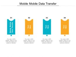 Mobile Mobile Data Transfer Ppt Powerpoint Presentation Visual Aids Deck Cpb