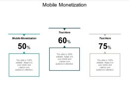 Mobile Monetization Ppt Powerpoint Presentation Gallery Visuals Cpb