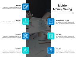 Mobile Money Saving Ppt Powerpoint Presentation Icon Slide Cpb