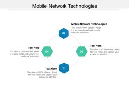 Mobile Network Technologies Ppt Powerpoint Presentation Icon Introduction Cpb
