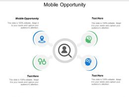 Mobile Opportunity Ppt Powerpoint Presentation Diagram Templates Cpb
