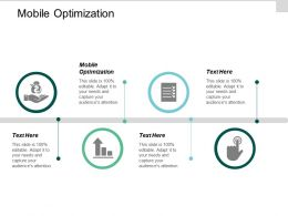 Mobile Optimization Ppt Powerpoint Presentation Infographic Template Maker Cpb