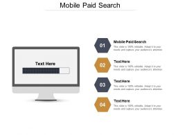 Mobile Paid Search Ppt Powerpoint Presentation Icon Visuals Cpb
