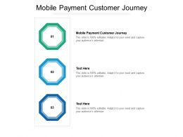 Mobile Payment Customer Journey Ppt Powerpoint Presentation Gallery Diagrams Cpb