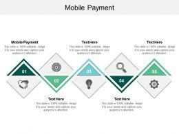 Mobile Payment Ppt Powerpoint Presentation Visual Aids Model Cpb