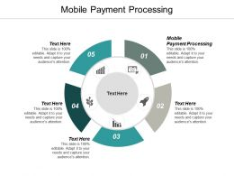 Mobile Payment Processing Ppt Powerpoint Presentation Ideas Smartart Cpb