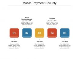 Mobile Payment Security Ppt Powerpoint Presentation Icon Maker Cpb