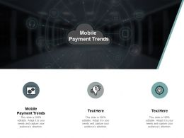 Mobile Payment Trends Ppt Powerpoint Presentation Portfolio Graphics Cpb