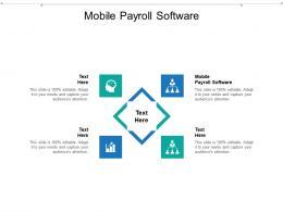 Mobile Payroll Software Ppt Powerpoint Presentation Portfolio Designs Cpb