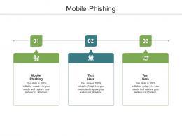 Mobile Phishing Ppt Powerpoint Presentation Infographics Portfolio Cpb