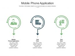 Mobile Phone Application Ppt Powerpoint Presentation Model Ideas Cpb