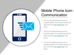 Mobile Phone Icon Communication