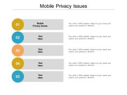 Mobile Privacy Issues Ppt Powerpoint Presentation File Graphic Tips Cpb