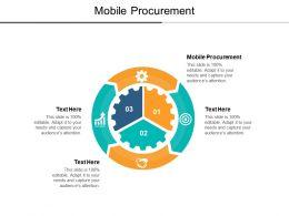 Mobile Procurement Ppt Powerpoint Presentation Portfolio Summary Cpb