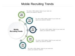 Mobile Recruiting Trends Ppt Powerpoint Presentation Inspiration Cpb