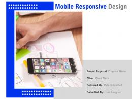 Mobile Responsive Design Powerpoint Presentation Slides