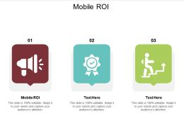 Mobile ROI Ppt Powerpoint Presentation Show Icons Cpb
