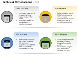 Mobile Screens Data Application Ppt Icons Graphics