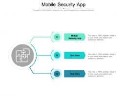 Mobile Security App Ppt Powerpoint Presentation Outline Graphics Cpb
