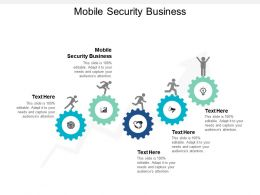 Mobile Security Business Ppt Powerpoint Presentation Summary Outfit Cpb