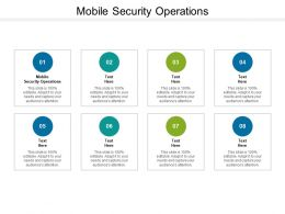 Mobile Security Operations Ppt Powerpoint Presentation Slides Topics Cpb