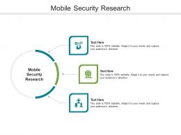 Mobile Security Research Ppt Powerpoint Presentation Infographic Template Guide Cpb