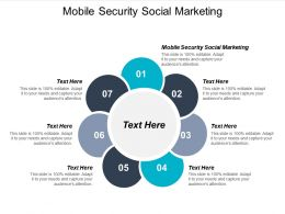 Mobile Security Social Marketing Ppt Powerpoint Presentation Summary Graphics Pictures Cpb